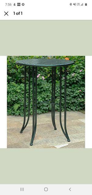 Mandalay Iron Patio Bistro Table for Sale in Alexandria, VA