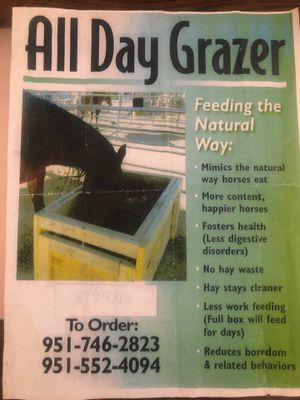 All Day Grazer for Sale in Canyon Lake, CA