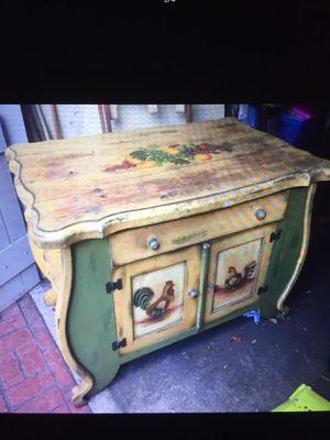 Rustic farmhouse kitchen island for Sale in Davenport, FL