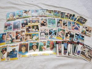 1970's-1980s Topps Baseball card's for Sale in Stockton, CA
