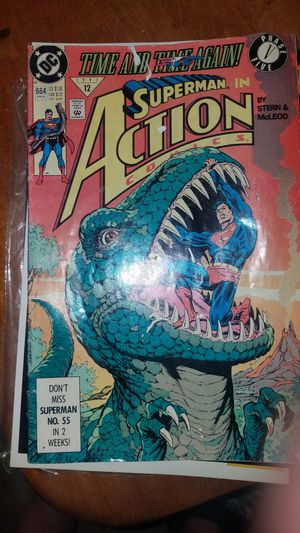90s Superman vs Dinosaurs Comicbook. for Sale in El Mirage, AZ