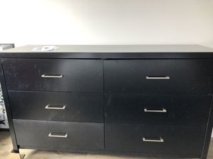 2 Sided Dresser in Black for Sale in Washington, DC