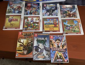 NINTENDO SWiTCH & 3DS/2DS Games•New•Sealed for Sale in San Marcos, CA