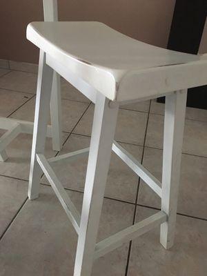 Mesa rústica blanca en madera for Sale in Miami, FL
