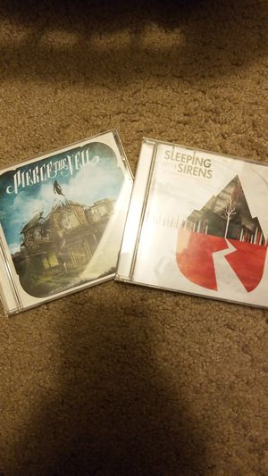 Sleeping With Sirens and Pierce The Veil CDs for Sale in Tampa, FL