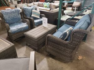 New 4pc outdoor patio furniture set tax included for Sale in Hayward, CA