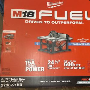 Milwaukee M18 FUEL Tools And Lincoln Electric Welder Prices In Below👇🏻👇🏻 In Descripción for Sale in Pennsauken Township, NJ