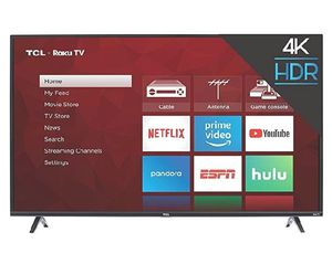 TCL 50S425 50 inch 4K Smart LED Roku TV (2019) for Sale in Henderson, CO