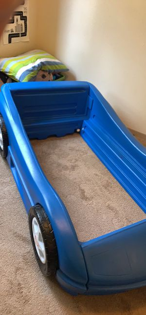 Toddler car bed for Sale in Corvallis, OR