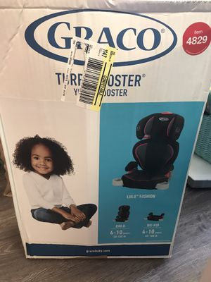 Graco Booster car seat 3 available for Sale in Miami Beach, FL