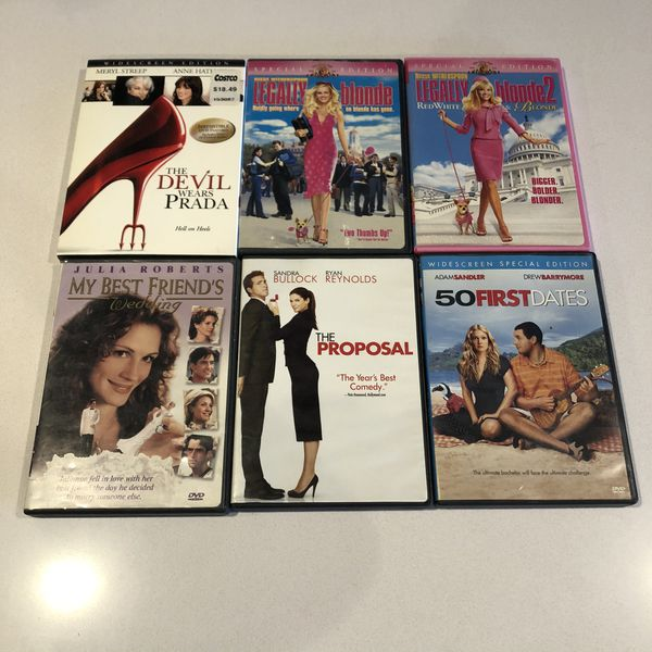 DVDs for sale! Buy 1 or buy all! $.90 each or all for $8