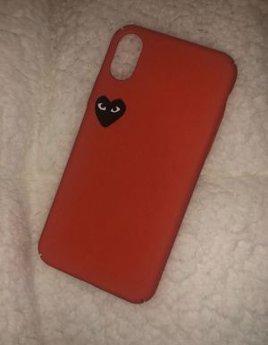Red iPhone X Comme des Garçons Case for Sale in Miami, FL