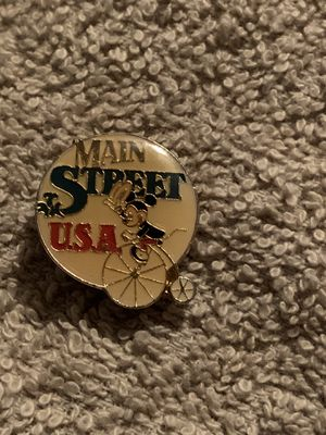 Vintage Enamel DISNEY Main Street USA Lapel Pin for Sale in Fresno, CA