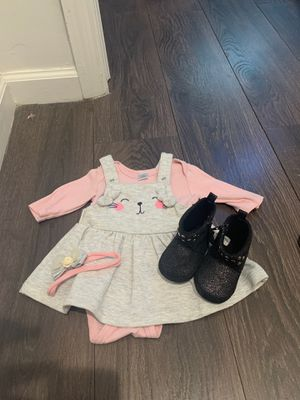 Baby girl dress & boots set for Sale in Opa-locka, FL