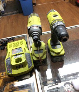 Ryobi 5pc drill set for Sale in Philadelphia, PA