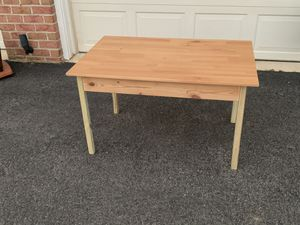 Small kids desk/play table with storage for Sale in Upper Marlboro, MD