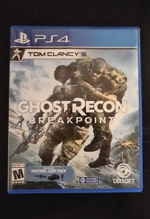 Ghost Recon Breakpoint for PS4 for Sale in Altadena, CA