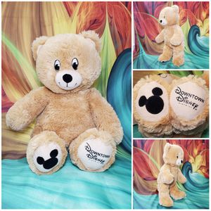 Build-A-Bear 🖤 RARE EXCLUSIVE Downtown Disney Disney District Retired Mickey for Sale in Hallettsville, TX
