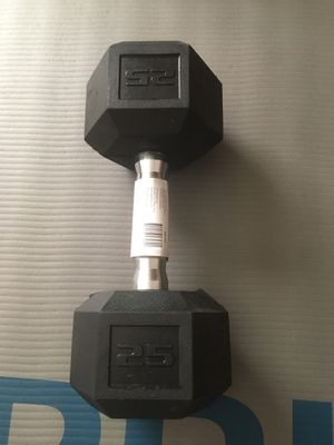 25 pound dumbbell, never used for Sale in Phoenix, AZ