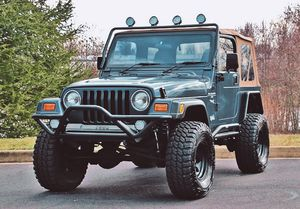 Well maintained🍀2OOO Jeep Wrangler TJ Lifted🍀-One Owner-$1OOO for Sale in Arlington, VA