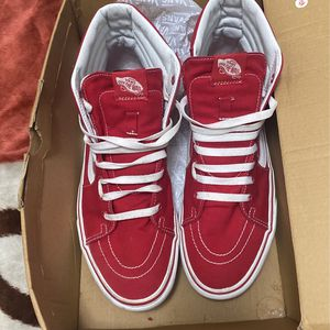 Size 11m Red Vans for Sale in The Bronx, NY