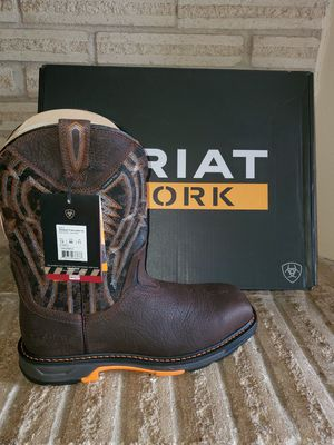 """👀ARIAT WORK """"BRAND NEW"""" BOOTS SZ.12D for Sale in Houston, TX"""