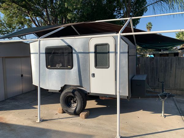 Lifted offroad Camping trailer