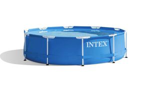 Intex 28200EH 10 Foot x 30 Inch Above Ground Swimming Pool (Pump Not Included) for Sale in Everett, MA