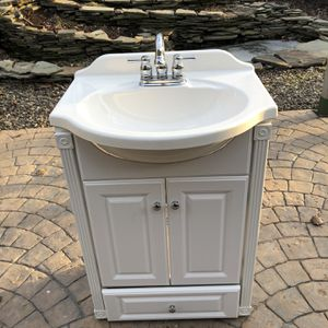 Bath Vanity With Sink, Faucet And Drain for Sale in Winfield, PA
