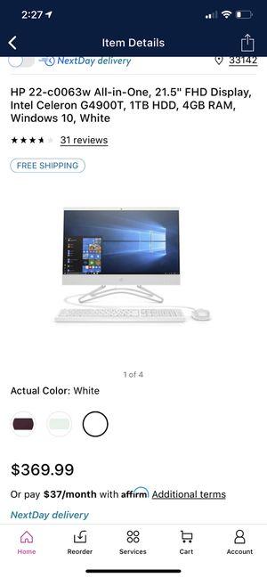 HP ALL in One Desktop PC for Sale in Delray Beach, FL