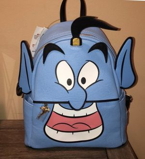 Disney Parks Loungefly Aladdin Genie Mini Backpack Blue New With Tags for Sale in Sun City, AZ