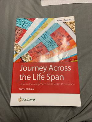 Journey Across The Life Span for Sale in Ansonia, CT