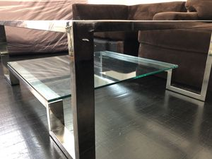 ZGallerie Duplicity Glass Coffee Table for Sale in San Francisco, CA