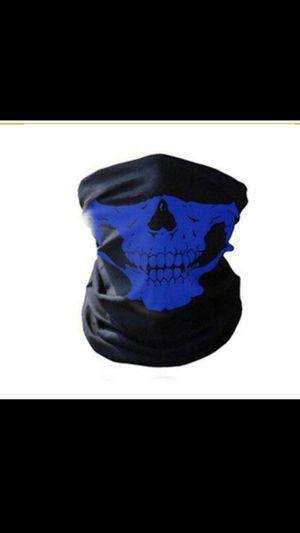 Blue Half Face Mask for Sale in San Bernardino, CA