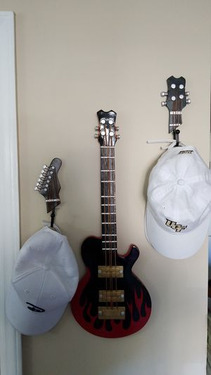 Guitar Hat Rack and Wall Art for Sale in Cary, NC