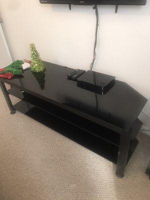 Tv stand black for Sale in Orlando, FL