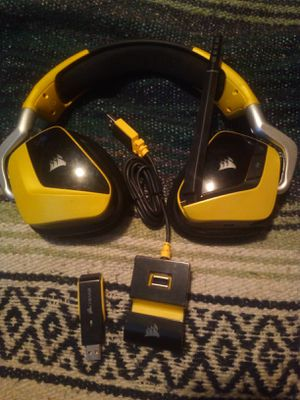 Corsair rbg gaming headset for Sale in Madison Heights, VA
