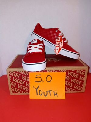 Vans atwood sz 5.0 youth for Sale in Tukwila, WA