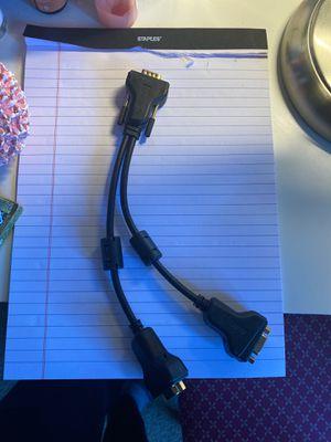 VGA Splitter cable for Sale in Beaverton, OR