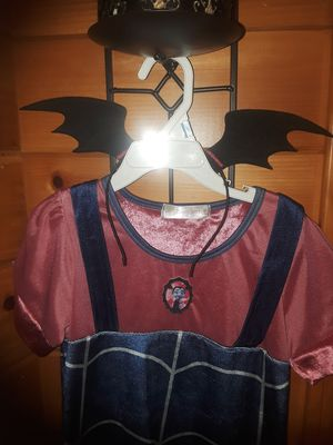 Vampirina and Tinkerbell Halloween costume 5/6 with headband and Tinkerbell with wings for Sale in Crestline, CA