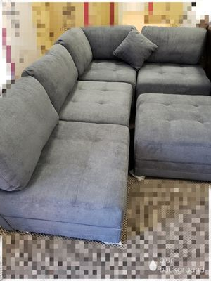 BIG SALE!!! MONACO GREY 5 PIECE SECTIONAL ONLY $799! NO CREDIT NEEDED FINANCING for Sale in Tampa, FL