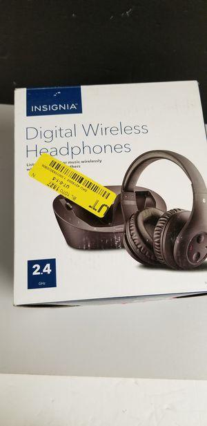 Insignia Digital wireless headphones for Sale in Alexandria, VA
