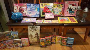 ****KIDS PUZZLES, GAMES,DVDS, GAMES, PIGGY BANK *** for Sale in La Mesa, CA