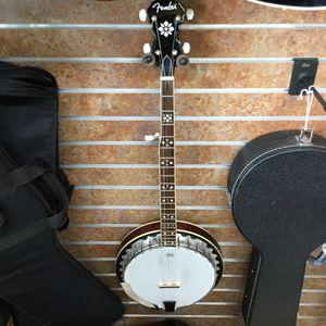 Fender Banjo Like New for Sale in Ontario, CA