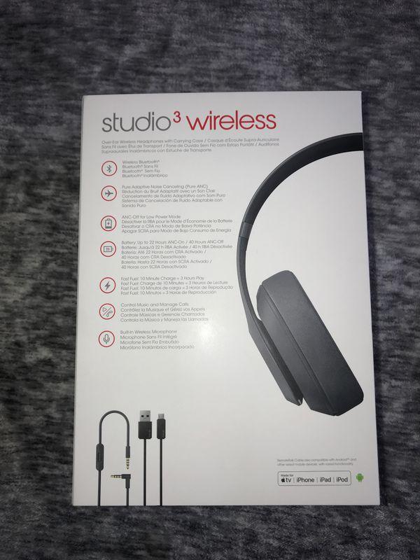 Beats Studio 3 Wireless Noise Cancelling Headphones
