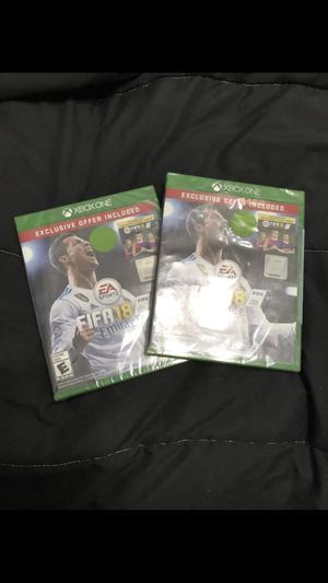 FIFA 2018 Both for $55/ 1 For $30 for Sale in Houston, TX