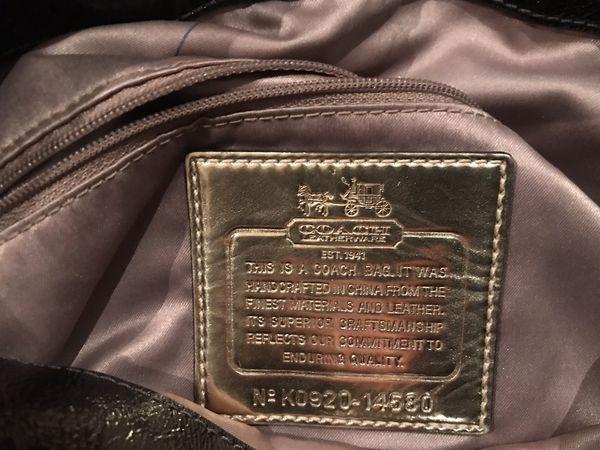 Coach purse/hobo bag