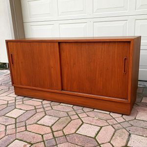 Mid Century Danish Teak Credenza by Poul Hundevad - Vintage MCM made in Denmark for Sale in Long Beach, CA
