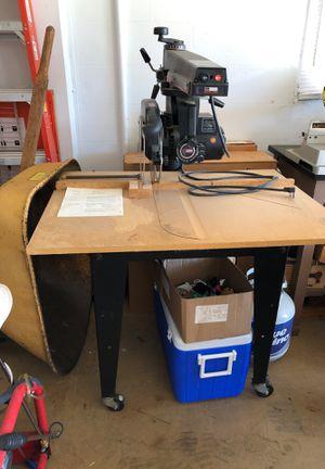 "Dewalt made daw for Sears 12"" radial table saw for Sale in Auburndale, FL"