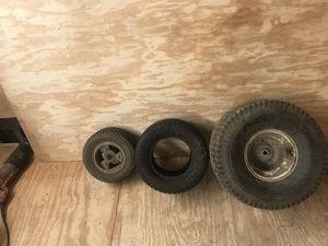 Assortment of lawn mower tires for Sale in Baltimore, MD